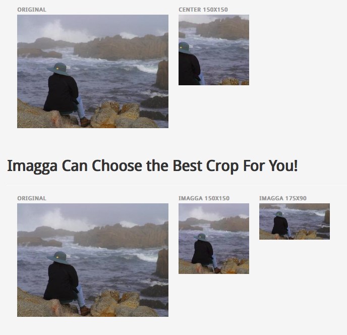 How Imagga smart cropping works