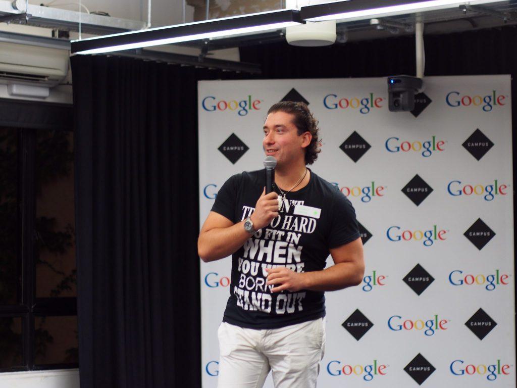 Georgi @ Google Campus for SeedHack