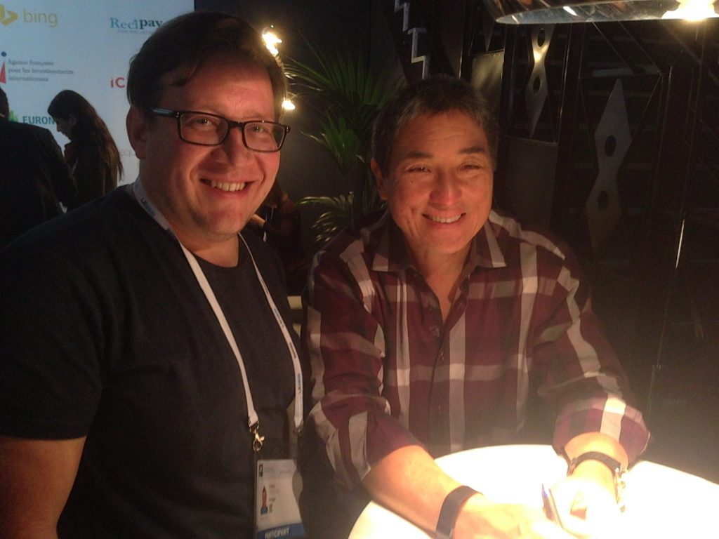 Chris & Guy Kawasaki