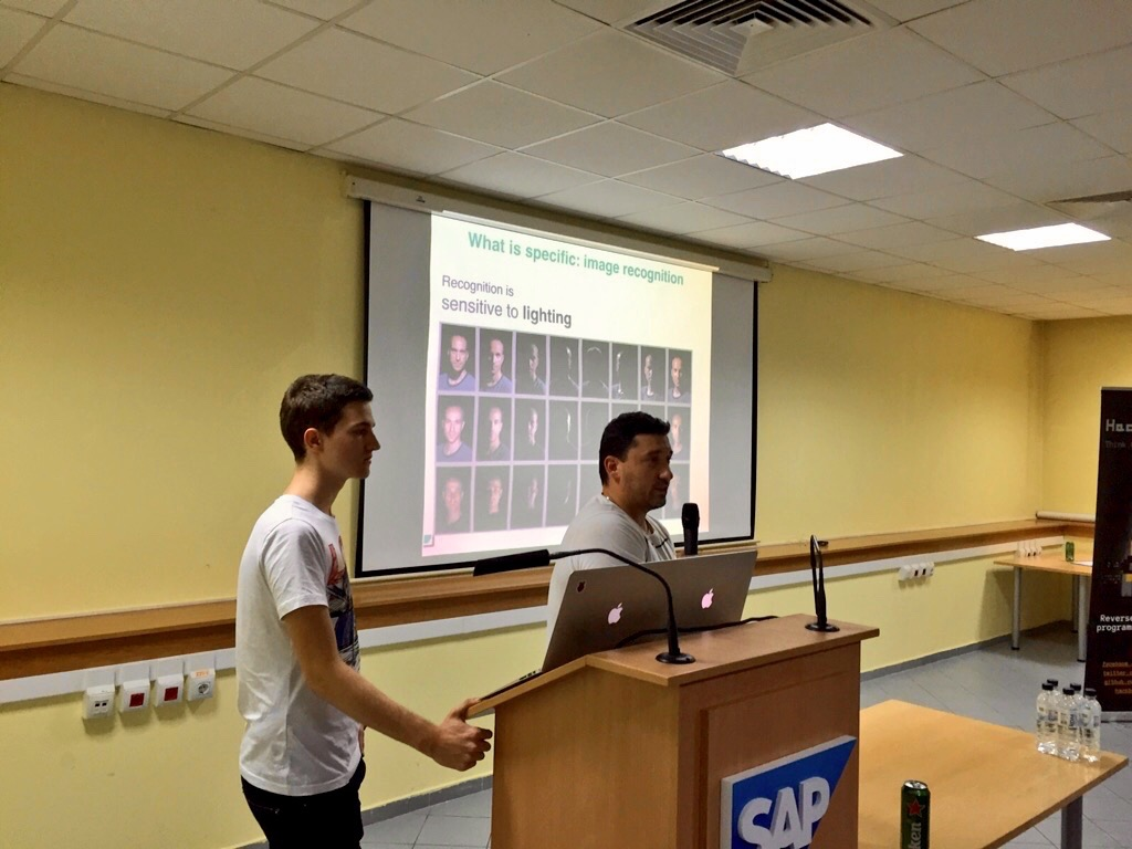 Georgi & Georgi presenting at SAP Labs Bulgaria