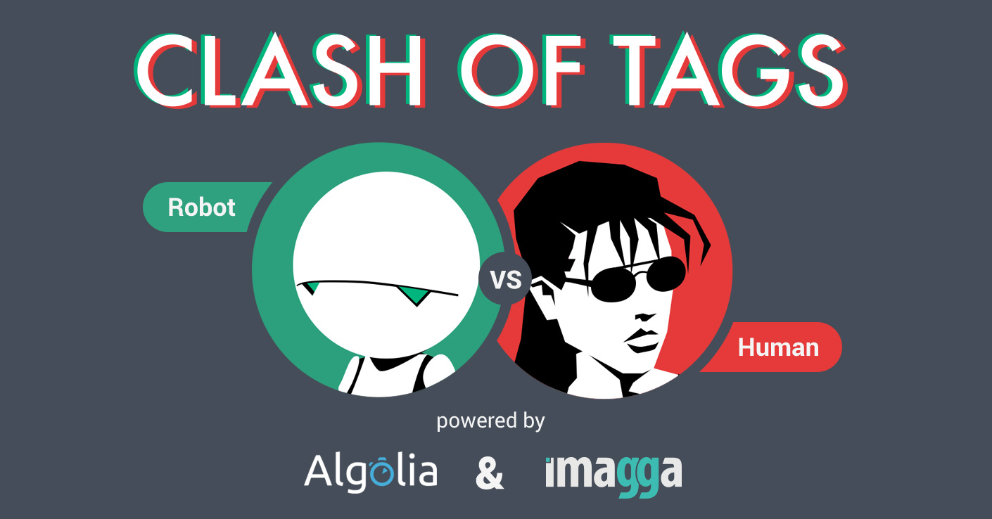 Clash of Tags - image recognition vs humans